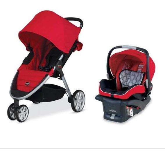 Carrinho De Bebê B Agile + Bebe Conforto B Safe Britax