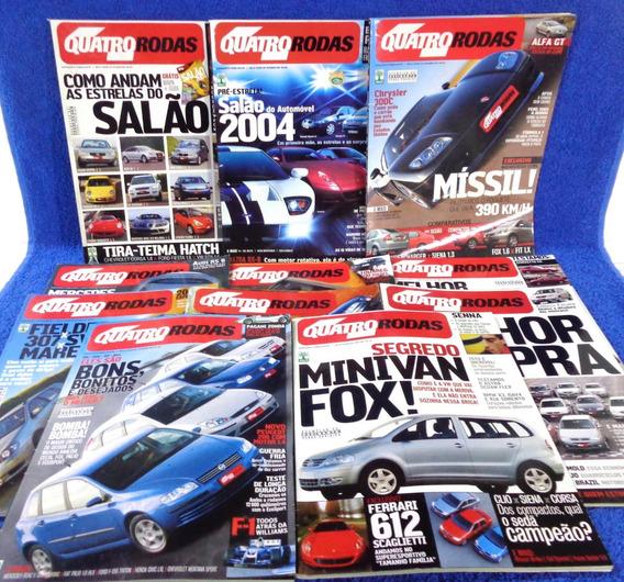 Lote Revista Quatro Rodas(11) 522,534,529,528,531,530...