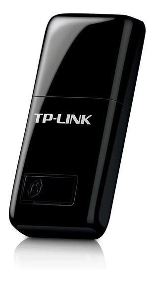 Adaptador De Rede Tp-link Wireless 300mbps Usb Tl-wn823n