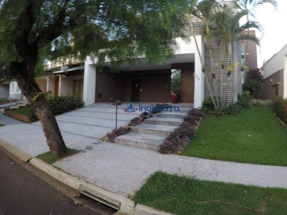 Casa À Venda, 260 M² Por R$ 990.000,00 - Condomínio Vale Do Arvoredo - Londrina/pr - Ca0434