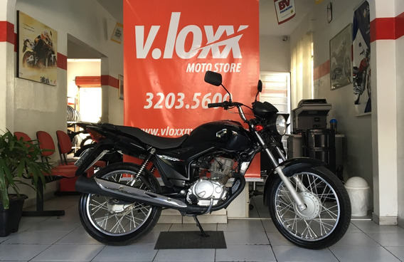 Honda Cg 150 Fan Esi Preta 2010