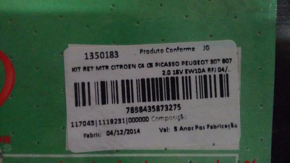 Kit Retentor Motor Citroen C4/c5 Picasso E Peugeot 307/308