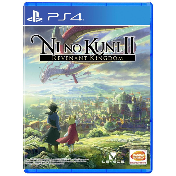 Ni No Kuni 2 Revenant Kingdom - Mídia Física - Ps4 - Novo