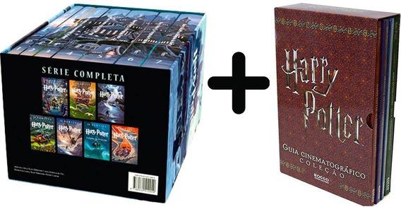 2 Box Harry Potter: Coleção Completa + Guia Cinema 11 Livros