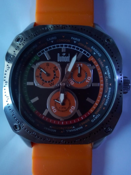 Relógio Dumont Multifunção - Só Hoje!