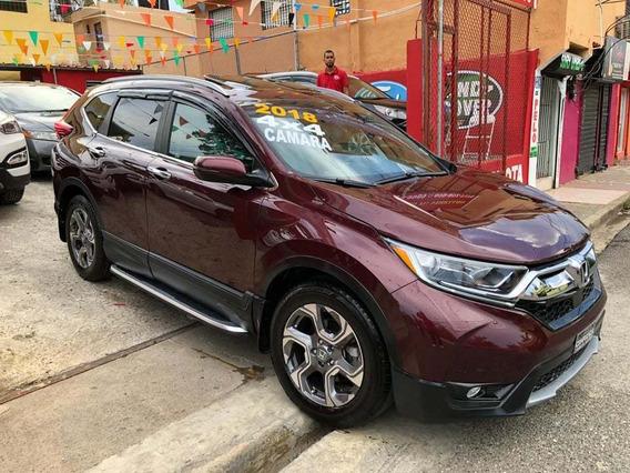 Honda Crv 2018 Ex 4x4 Sun Roof Camara Push Botón Importada