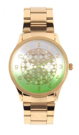 Relógios Aço Dourado
