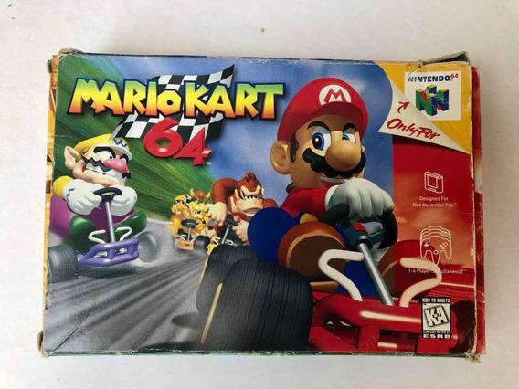 Mario Kart 64 Original Completo Na Caixa