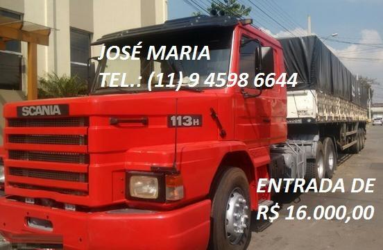 Scania 113 Ano 98 Com Carreta Graneleiro 2012