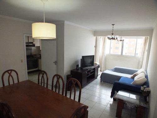 Apartamento Com 2 Dorms, Centro, São Vicente - R$ 350 Mil, Cod: 1369 - V1369