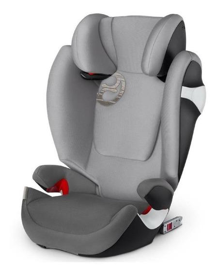 Butaca infantil para auto Cybex Silver Solution M-Fix Manhattan grey