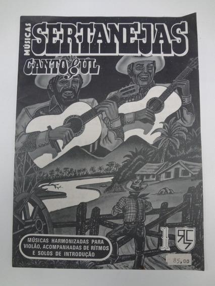 Revista De Cifras Músicas Sertanejas Canto Sul