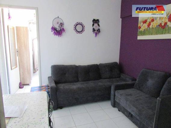 Studio À Venda, 26 M² Por R$ 140.000,00 - Centro - São Vicente/sp - St0122