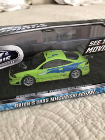 Miniatura Velozes E Furiosos Mitsubishi Eclipse 1:43 Brian