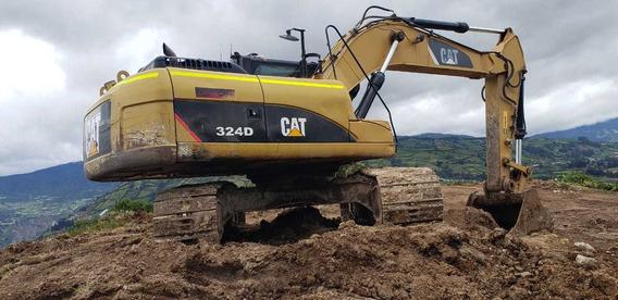 Cat 323d 2012 Y Cat 324d 2011