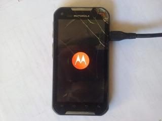 Celular Motorola 4,3¨ Ironrock Xt626 Com Defeito - 2319