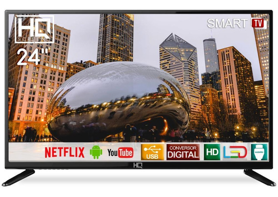 Smart Tv Led 24 Hd Hq Hqstv24np
