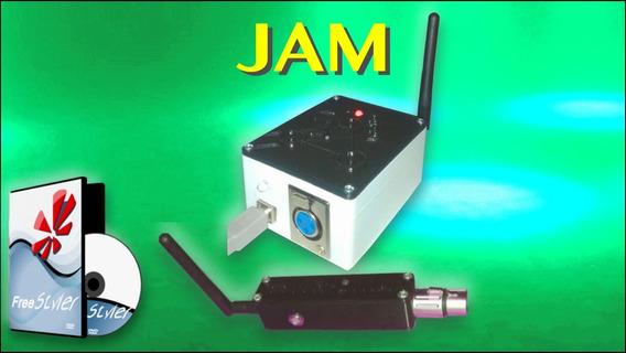 Interface Jam Dmx Inalámbrica Más Receptor