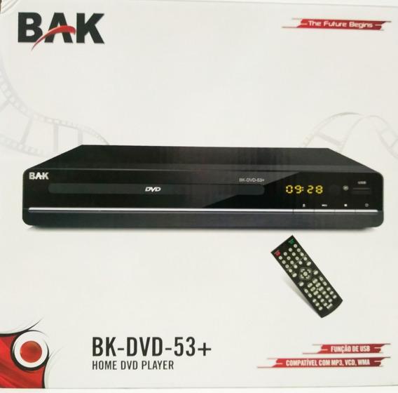 Dvd Bak Bivolt,usb,mp3,mp4, Wma , Jpeg