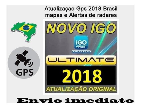 Gps Igo Fast Ultimate 2018 Carro