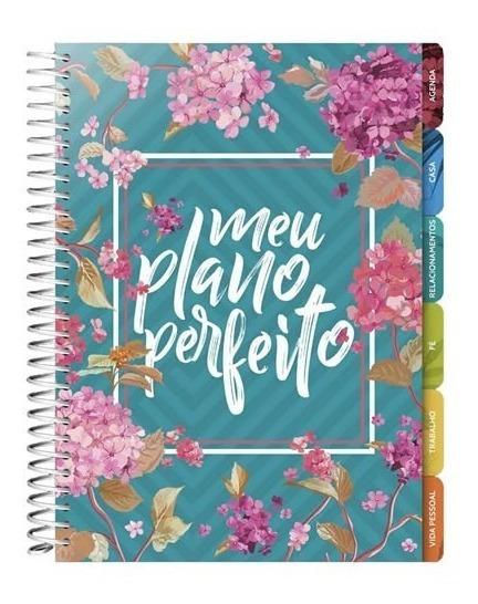 Planner Agenda - Meu Plano Perfeito - Capa Flores 2020
