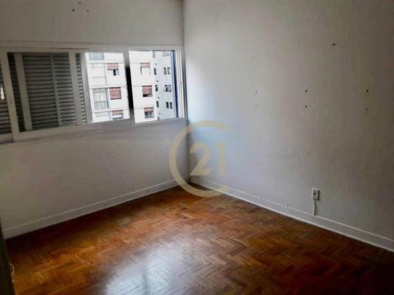 Apartamento Com 1 Dormitório À Venda, 44 M² Por R$ 350.000,00 - Perdizes - São Paulo/sp - Ap18260