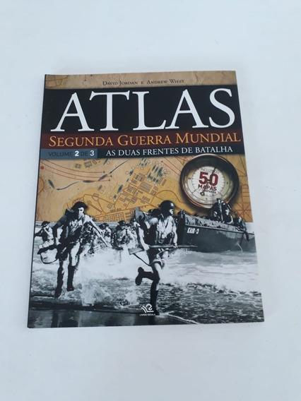 Revista Atlas Segunda Guerra Mundial As 2 Frente De Batalha