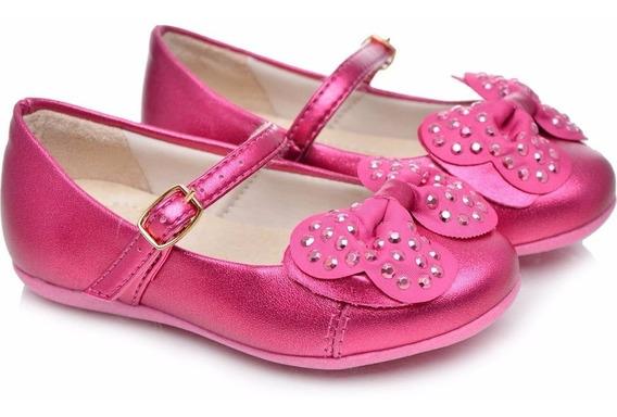 Sapatilha Bailarina Infantil Pampili Pink