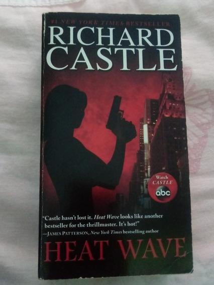 Livro Importado Da Série Castle, Heat Wave , Volume 1