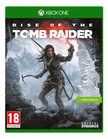Rise Of The Tomb Raider Xbox One Mídia Fisico