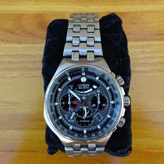 Relógio Citizen Promaster Av0020-55h, Caixa+pulseira Titânio