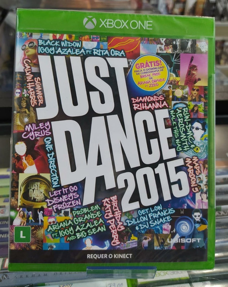 Just Dance 2015 Xbox One Novo Lacrado