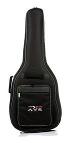 Bag Capa Para Violão Clássico Nylon Super Luxo Avs Ch 200