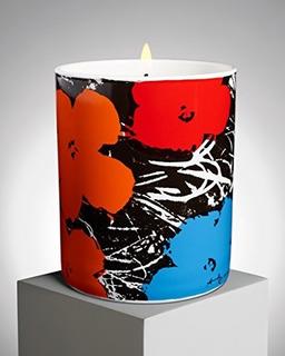 Ligne Blanche Paris Flores Vela Por Andy Warhol