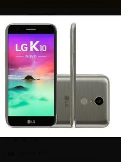 Celular Lg K10 2017 Tela 5.3 Original, 16 Gb + Fone