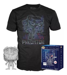 Funko Pop The Predator Collectors Edition Mas Remera Talle L
