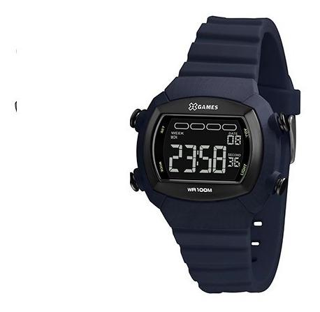 Relógio X Games Xtyle Masculino Digital Xgppd166 Pxdx Azul
