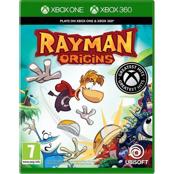 Rayman Origins Xbox One 360 Midia Fisica Original Nacional