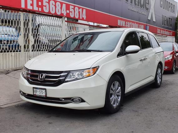 Honda Odyssey 2015 Exl Papeles En Regla Todo Pagado!!!