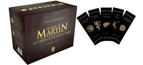 Box ¿ As Crônicas De Gelo E Fogo ¿ Pocket ¿ 5 Volumes