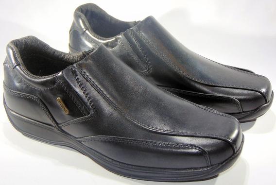 Zapato Oxigeno Cuero Comodos C/elástico 39/45 Art 115