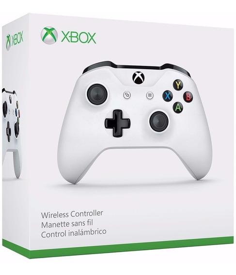 Controle Xbox One S Original Microsoft Slim Branco Lacrado