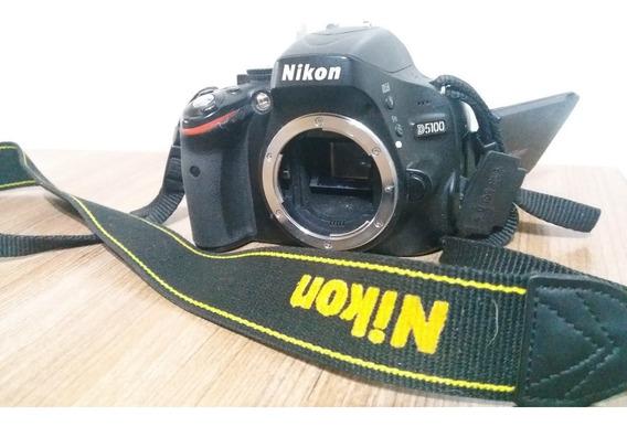 Corpo Nikon D5100 Com Acessorios