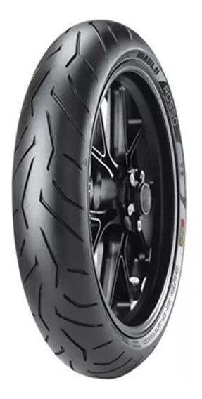 Pneu Pirelli 100 80 17 Diablo Rosso2 Radial Fazer E Twister