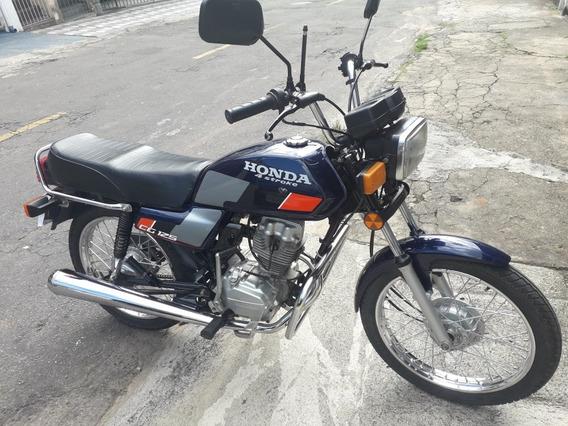 Honda Cg 125 Azul 4 Stroke