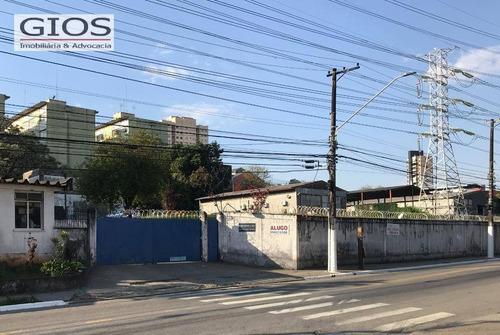 Imagem 1 de 1 de Terreno Para Alugar, 5000 M² - Freguesia Do Ó - São Paulo/sp - Te0045