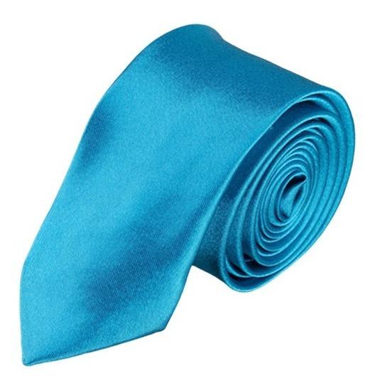Corbata Juvenil Lisa Slim Para Adulto Lote 10 Pzas Unisex Varios Colores