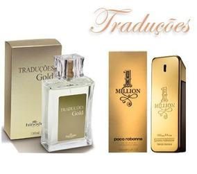 Traduções Gold, Toda A Linha De Perfumes Gold