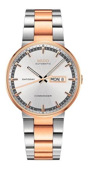 Reloj Mido M0144302203180 Para Caballero Ext De Acero