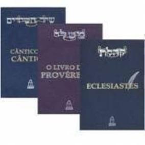 Coleção Sabedoria Do Rei Salomão - 3 Volumes
